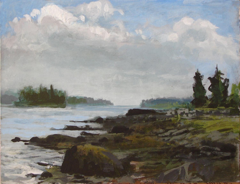 Ocean Maine Spruce Head