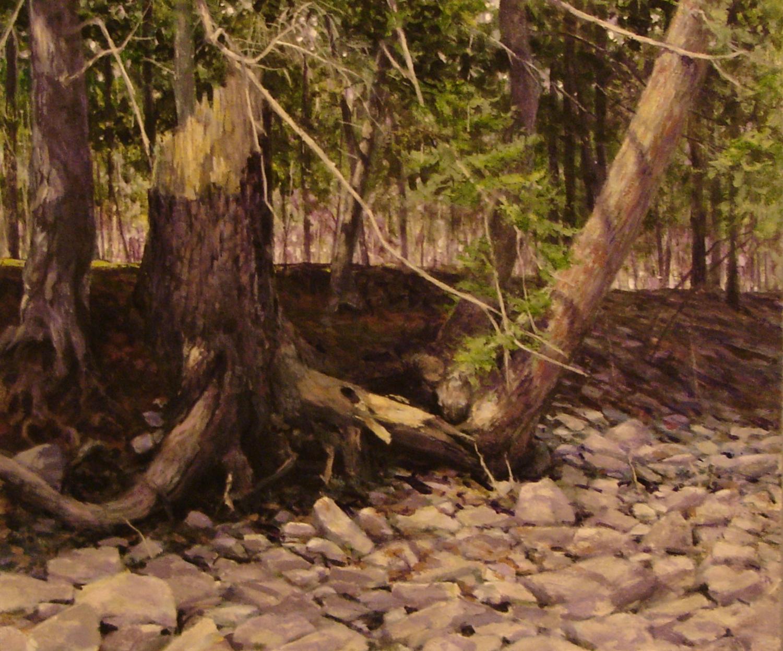 Zena Broken Tree