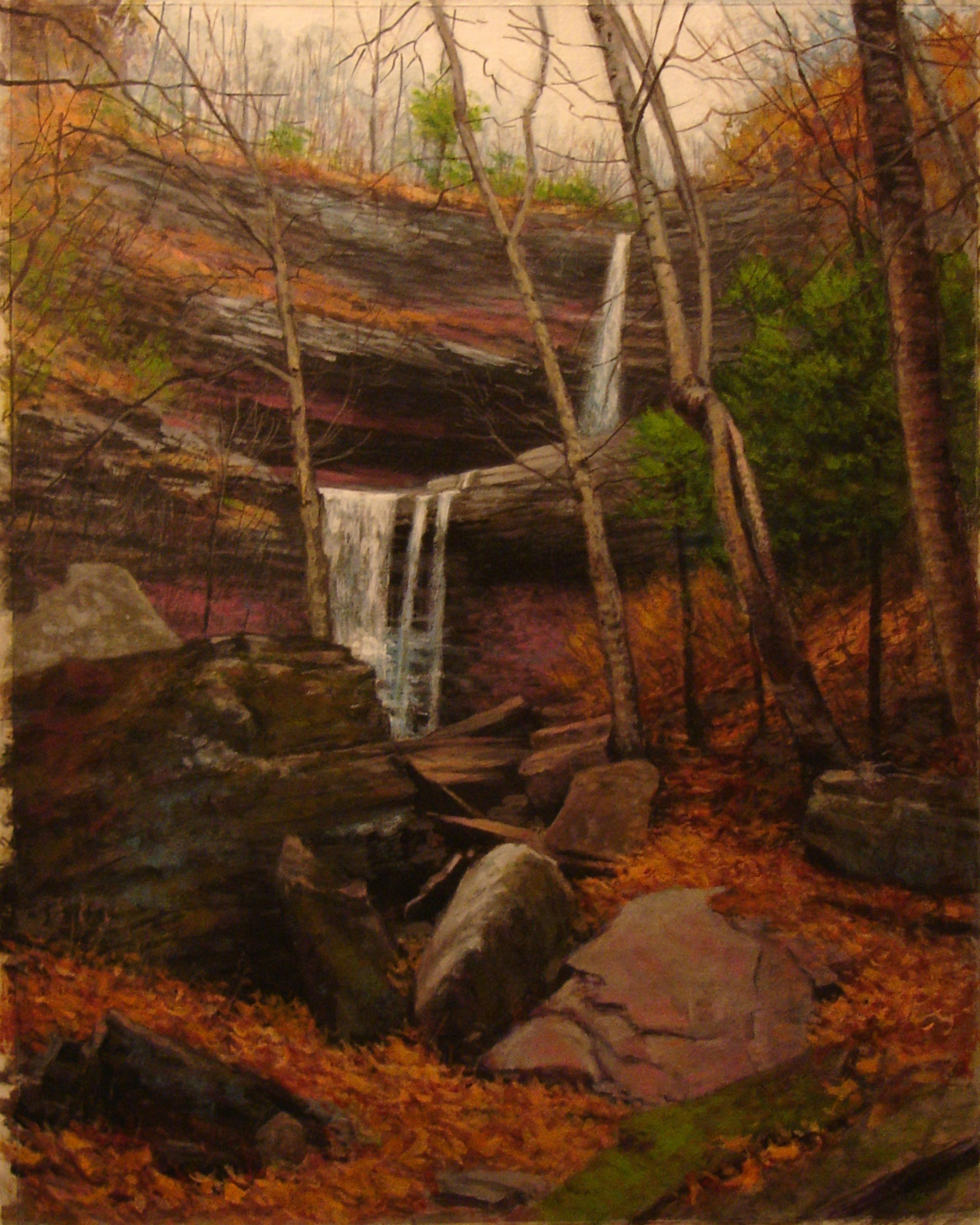 Kaaterskill Falls in Fall
